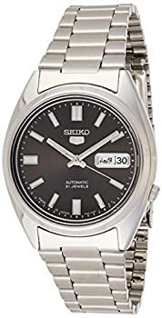 Seiko 5 Automatic Gents Stainless Steel Watch Black Dial - SNXS79J1 -  Made in Japan  by Seiko Watches