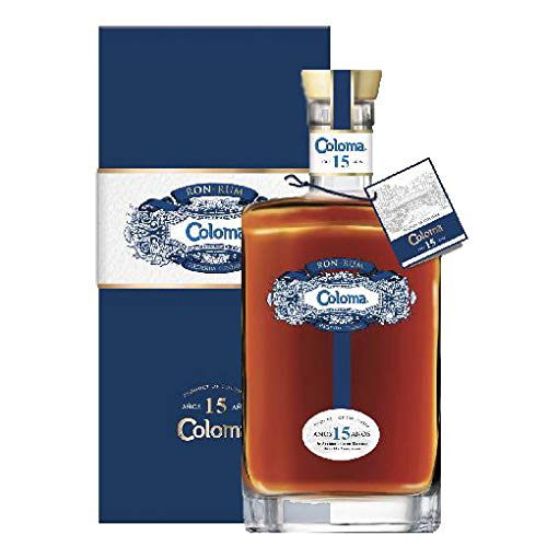 COLOMA 15 YEARS 40% 70 CL RUM COLOMBIA