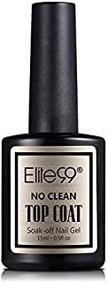Elite99 No Clean Nail Top Coat - 15 ml