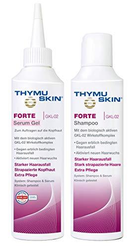 Thymuskin Forte Set, 1er Pack (1 X 100 Ml Shampoo & 1 X 100ml Serum)
