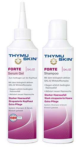 Thymuskin Forte Set, 1er Pack (1 X 100 Ml Shampoo & 1 X 100ml Serum)