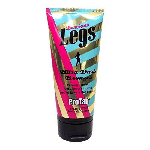 PRO TAN LUSCIOUS LEGS BRONZER 177ML TUBE CREAM LOTION FOR SUNBED USE