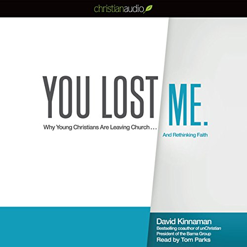 You Lost Me audiobook cover art