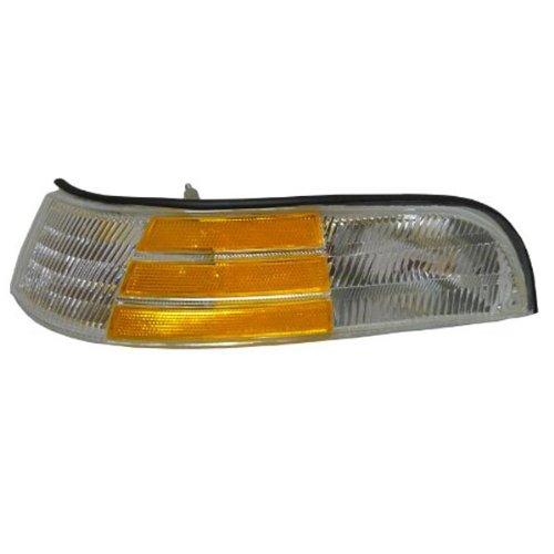 1992-1997 Ford Crown Victoria LX Corner Park Light Turn Signal Marker Lamp Left Driver