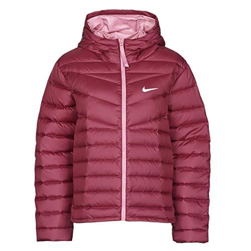 Nike W NSW Wr Lt Wt Dwn JKT Mäntel Women Bordeaux - S - Daunenjacken Outerwear