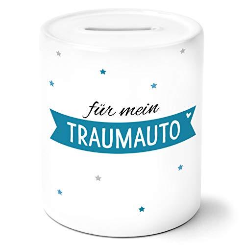 Traumauto Spardose Personalisiert mit Namen Geschenke Geschenkideen für alle Sparfüchse zum Geburtstag