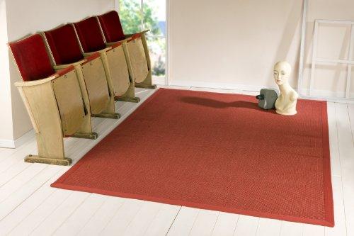 Sisal Teppich Manaus Astra 011 / 011 / Rubin / Rot