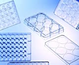 Greiner Bio-One 657165 CELLSTAR Cell Culture Multiwell Plate with Lid, TC Treated, Flat Bo...