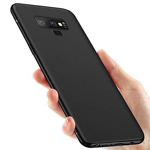 Galaxy Note 9 Handyhülle , otumixx Silikon Hülle für Galaxy Note 9 Schutzhülle Anti-Fingerabdruck Kratzfeste Stoßfest Soft Ultra Dünn TPU Bumper Hülle für Samsung Galaxy Note 9 Hülle Cover - Schwarz