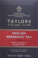 Taylors Of Harrogate BG18893 Taylors Of Harrogate English Breakfast Tea - 6x20BAG