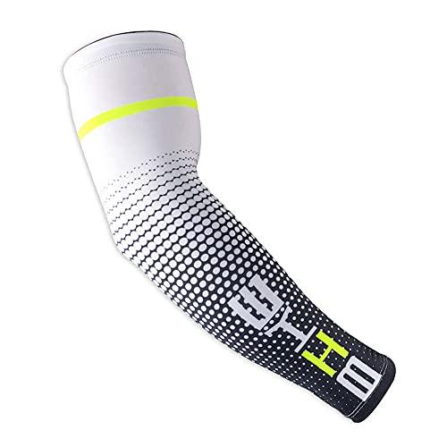 2 PZ Sport Ghiaccio Seta Maniche Ciclismo Corsa UV Protezione Del Sole Polsino Copertura Protettiva Braccio Protezione Solare Manicotti M per Uomini