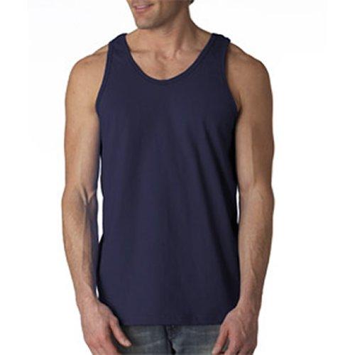 Gildan–Sudadera Preencogido Banded Dobladillo Inferior Camiseta de Tirantes - Blanco -