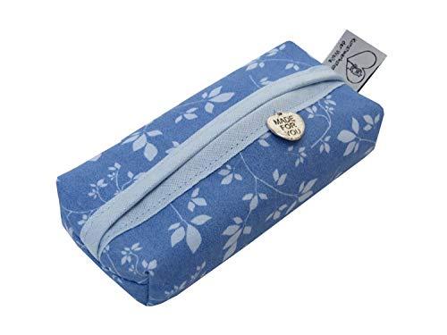 TaTüTa Taschentüchertasche blau hellblau Blumen