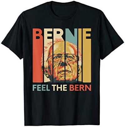 Vintage Bernie Sanders President Feel The Bern 2020 T Shirt product image
