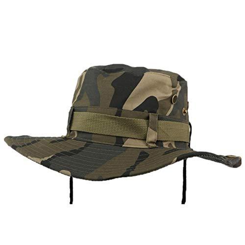 Hip Hop Honour Bob Safari Armée Camouflage avec Lien - Mixte