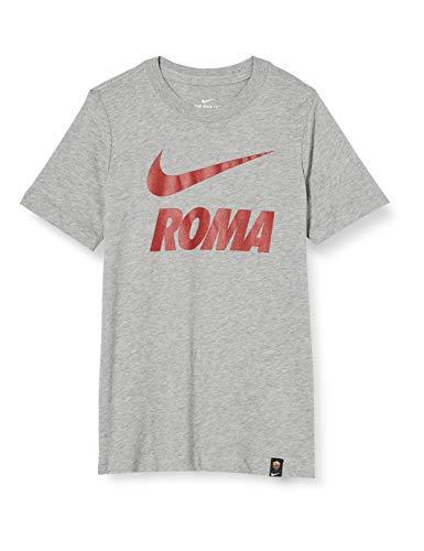 Nike Boys ROMA B NK TEE TR GROUND T Shirt dk Grey Heather M