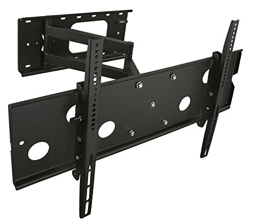 Mount-It! Long Arm TV Wall Mount with 26 Inch Extension, Swing Out Full Motion Design for Corner Installation, Fits 40 50, 55, 60, 65, 70 Inch Flat Screen TVs, 220 Lb Capacity