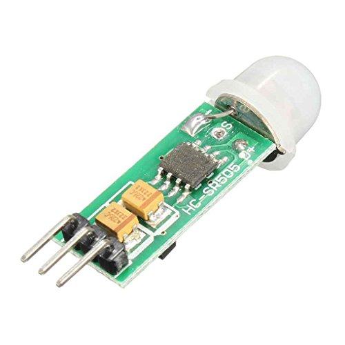 Vkospy HC-SR505 Mini détecteur de Mouvement Infrarouge PIR Module de détection Infrarouge