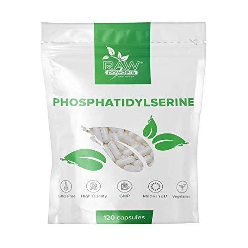 RP Phosphatidylserin 100mg Tabletten | 120 Kapseln | Fur Konzentration Und Gedächtnis | Vegan, Ohne GVO, Gluten & Milch | Hergestellt ISO-zertifizierten Betrieben in GB