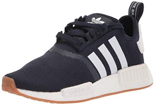 adidas Originals Men's Nmd_r1 Sneaker, Collegiate Navy/White/Gum, 9.5