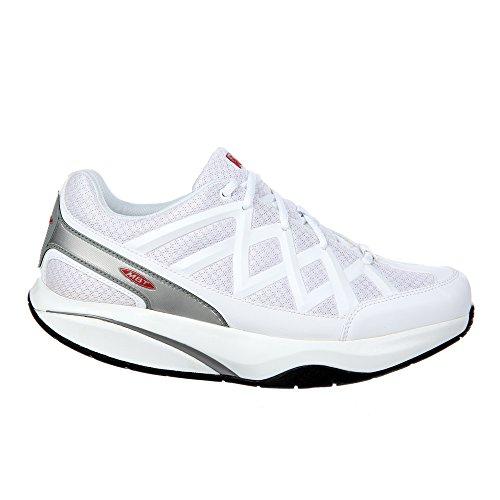 MBT Men's Sport 3 Fashion Sneaker,White,45 EU/11-11.5 M US