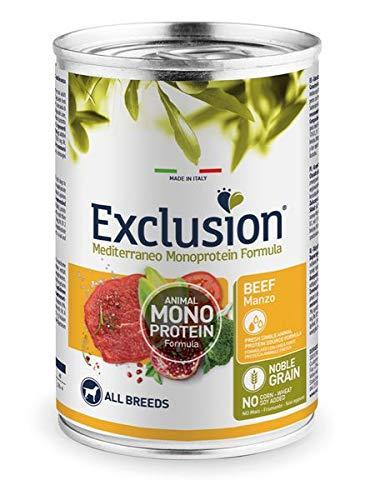 Exclusion MONOPROTEICO Manzo 400 GR X 6