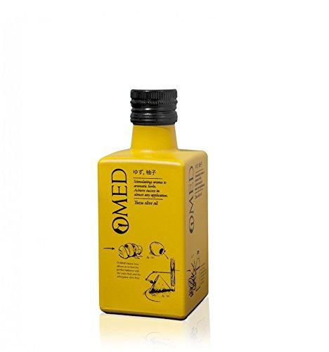 O-Med Selection Arbequina con Yuzi (10%) - Botella 250 ml - Aceite De Oliva Virgen Extra