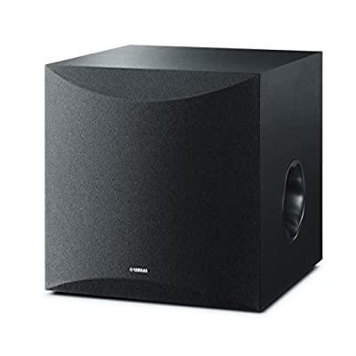 "Yamaha NSSW100 Powered Subwoofer with 10"" Driver - Black by YAMA6"