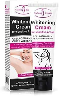 Crema blanqueadora para Piel Oscura, Cuello, Zonas sensibles