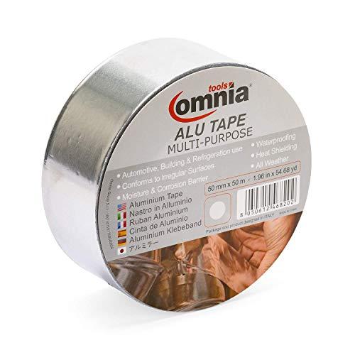 OMNIA TOOLS ALU TAPE MULTI - PURPOSE | Cinta De Aluminio |Autoadhesiva...