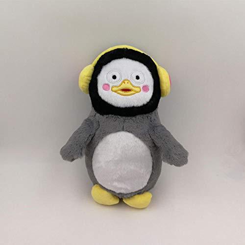 CZMCQM Simpatico Cartoon Peluche Animale Pinguino Peluche Bambola Giocattolo Divano Cuscino Decorazione Della Camera Bambola Per Bambini Ragazza Regali-35Cm_Gray_China