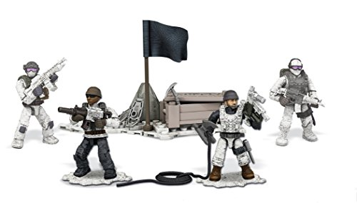 Mega Bloks Call of Duty Collector Construction Set of 4 - Arctic Troopers (Dpb53)