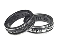 Alchemy Gothic Demons and Angels Ring Standard L #1