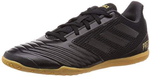 Adidas Predator 19.4 In Sala, Botas de fútbol Unisex Adulto, Multicolor (Core Black/Core Black/Utility Black 000), 41 1/3 EU