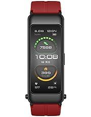 Huawei Band Pro Advanced Fitness Tracker z pomiarem tętna, ekranem Amoled, wbudowanym GPS, do 11 trybów sportowych, w zestawie profesjonalne wskazówki sportowe.