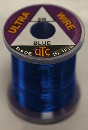 Hareline Dubbin UTC Ultra Wire Small Blue