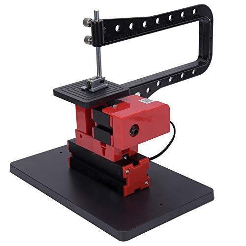 Jigsaw DIY houtdraaibank elektrisch gereedschap, 20000 tpm 24W High Power gegalvaniseerde Jigsaw metalen draadzaagmachine DIY zaagmachine draaibank US Plug 110-240V