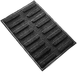 Silikomart - AIR Plus 11 - Set 2 PZ Silicone Mould N.16 Eclair 25x125 h 5 MM Black