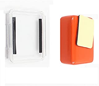 JEERUI Waterproof Backdoor Case Cover Housing Case + Floaty Buoy with Adhesive for GoPro Hero 4
