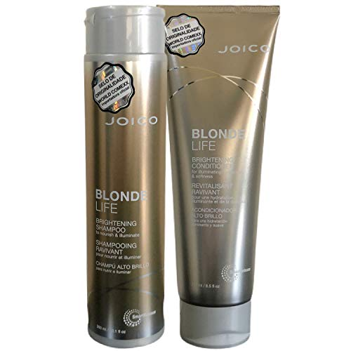 Kit Shampoo 300ml + Condicionador 250ml Joico Blonde Life Brightening
