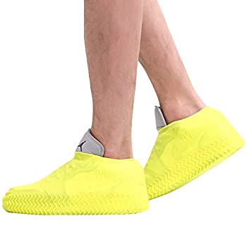 Waterproof Silicone Shoe Cover,Reusable Non Slip Rubber Rain Shoe Cover Unisex Shoe Protectors Outdoor with Non-slip Sole for Rainy and Snowy