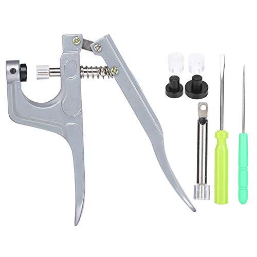 Kit de alicates para ropa, kit de alicates para broches, sujetador, instalación de elaboración de ropa, herramienta de costura para ropa fija