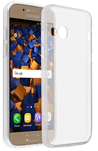 mumbi Hülle kompatibel mit Samsung Galaxy A3 2017 Handy Hülle Handyhülle dünn, transparent