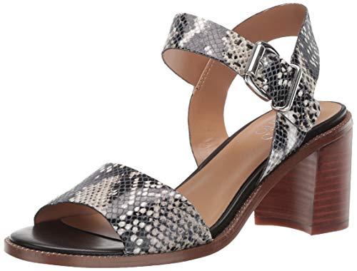 Price comparison product image Franco Sarto Women's Havana Heeled Sandal,  Natural,  6 M US