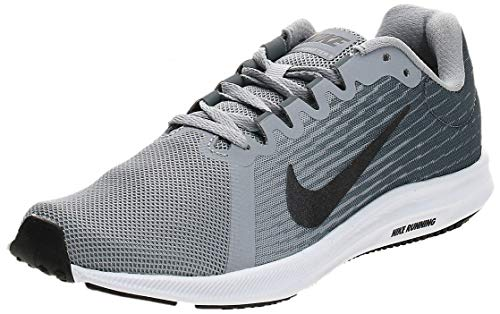 Nike Damen Downshifter 8 Running Laufschuhe, Grau Wolf Grey MTLC Dark Grey Cool Grey Black 006, 37.5 EU