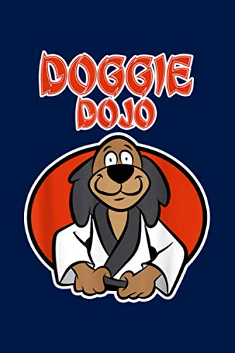 Karate Dog For Sports Fans Doggie Dojo: Notebook Planner -6x9 inch Daily Planner Journal, To Do List Notebook, Daily Organizer, 114 Pages
