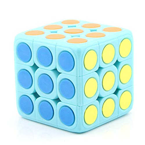 JIAAE 7X7 Cubo di Rubik Professional Competition Smooth Rubik Bambini Puzzle di Alta Difficolt/à,Black