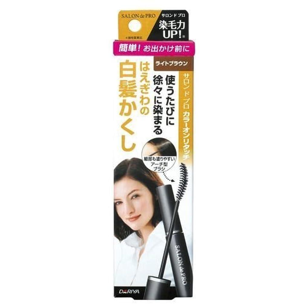 異邦人型敵意サロンドプロ カラーオンリタッチ 白髪かくしEX ライトブラウン 15ml