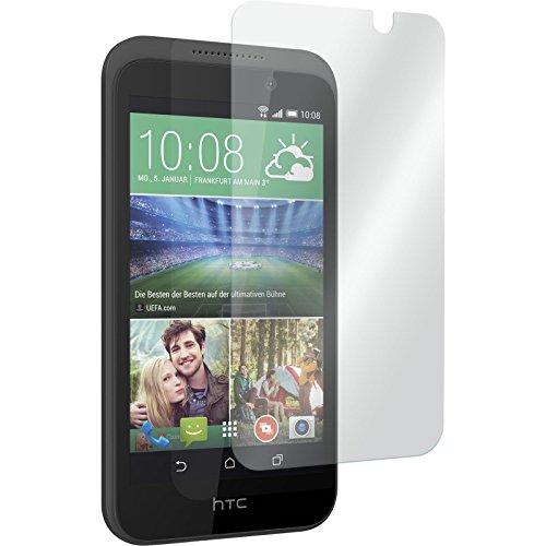 PhoneNatic 1 x Glas-Folie klar kompatibel mit HTC Desire 320 - Panzerglas für Desire 320