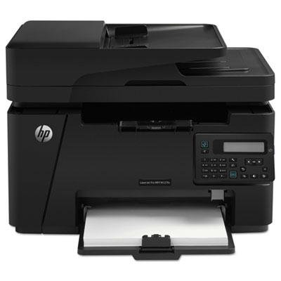 Hp - Laserjet Pro Mfp M127fn Multifunction Laser Printer Copy/Fax/Print/Scan